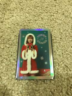 [WTT] Jeongyeon Lenticular Photocard Twicecoaster Lane 1 Christmas Edition