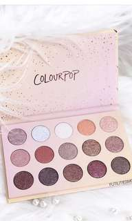 (INSTOCK) COLOURPOP GOLDEN STATE OF MIND PALETTE