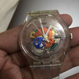 Swatch - Ghost Skeleton Dial Watch