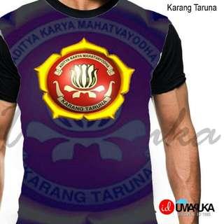 Kaos 3d fullprint (Karang taruna) size L