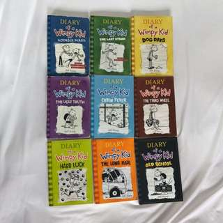 Diary of a Wimpy Kid series 2-10