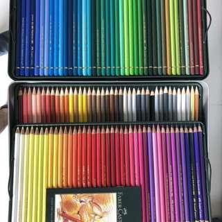 Faber-Castell Polychromos 120 coloured pencils set(For Artist)