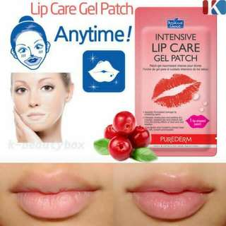 PUREDERM LIP GEL PATCH