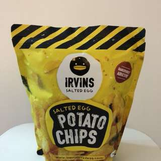 大包😍新加坡人氣Irvins咸蛋薯片