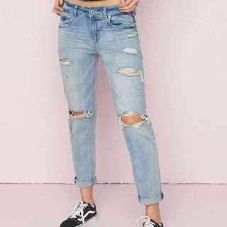 Garage Clothing Boyfriend/Mom Jeans size 0