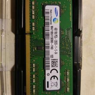 Samsung 99% new Notebook RAM
