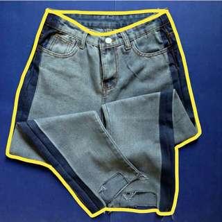 Highwaist Korean Denim Pants