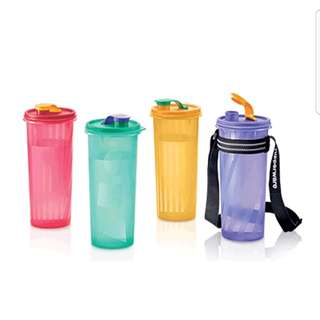 Tupperware Water Bottles Set - Handy Cool