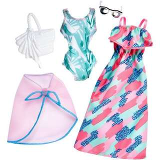 Barbie Swimsuit and sunglasses
