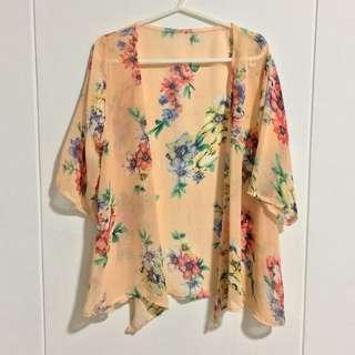 Floral Kimono/ Cardigan