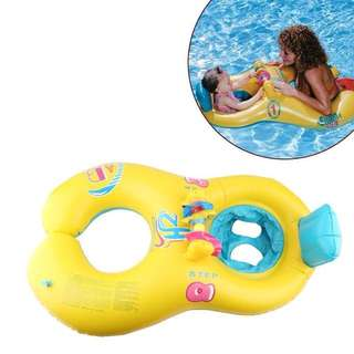 READY STOCK-MOTHER+CHILD SWIM RING/FLOAT