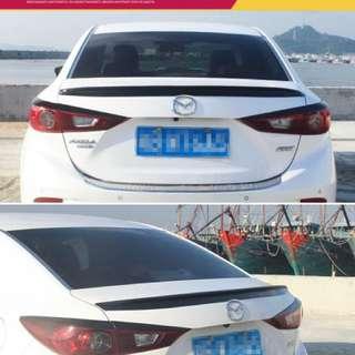 USED Mazda 3 Skyactiv Lip Spoiler