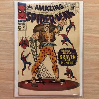 MARVEL COMICS The Amazing Spider-Man #47-Kraven Appearance (Serious Buyers Only)