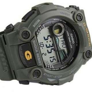 Casio G-Shock Military Green G-Rescue Men's Watch G-7900-3DR , G7900