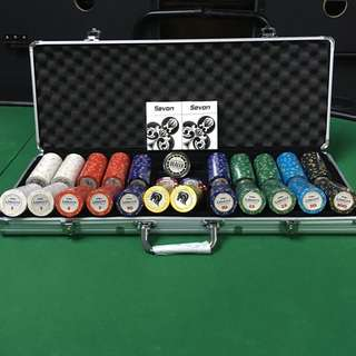 Poker Chips Set ( Newly Launched)