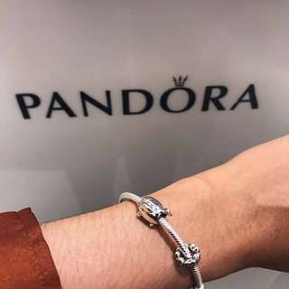 Pandora Bracelet & Charms Set