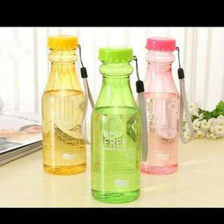 botol minum lucu dan warna warni