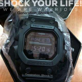 BEST🌟SELLING GSHOCK-GKING : 1-YEAR OFFICIAL VALID WARRANTY : 100% ORIGINALLY AUTHENTIC G-SHOCK RESISTANT in TOUGH☀️SOLAR POWER DEEP ELEGANT BLACK STEALTH MATT ABSOLUTELY TOUGHNESS Best Gift For Most Rough Users: GX-56BB-1DR / GX56BB / GX-56 / GX56