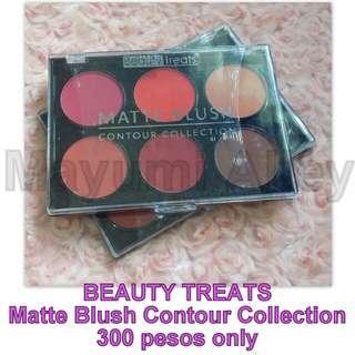 BEAUTY TREATS Matte Blush Contour Collection