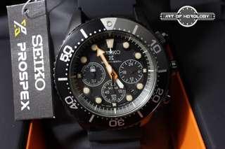 SEIKO SSC673P1 Black Series