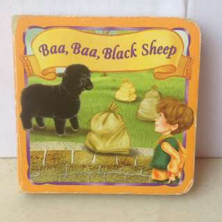 Board Book - Baa Baa Black Sheep