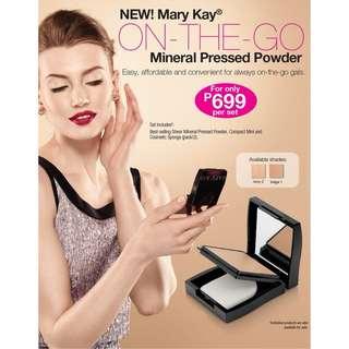 Mary Kay Pressed Powder On-The-Go