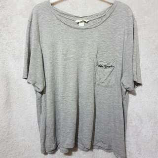 H&m embroided pocket tee