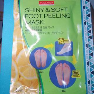 AUTHENTIC Purederm Foot Peeling Mask