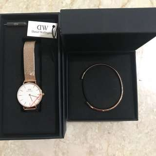 Daniel Wellington Cuff Set