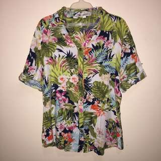 Floral (Hawaiian) Top/Polo