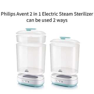 Avent 2 in 1 sterilizer