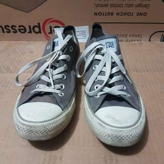 Converse Grey Size 40 preloved