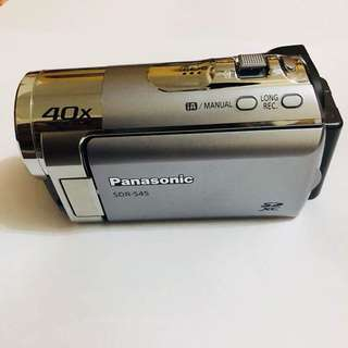 Panasonic sdr S45 video camera