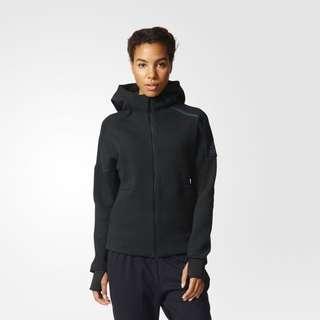 🚚 Adidas Z.N.E Hoodie Black 女生s號