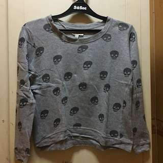 Zara skull sweater