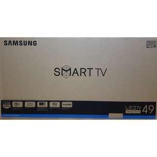 """BRAND NEW Samsung 49"""" Full HD Flat Smart Tv J5200 Series 5 UA49J5200AK"""