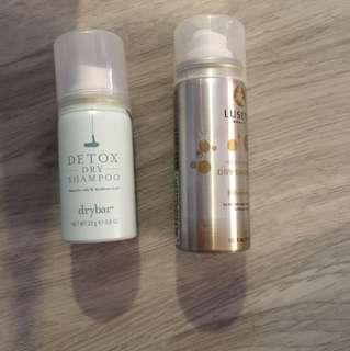Luseta , Dry bar : Dry shampoo
