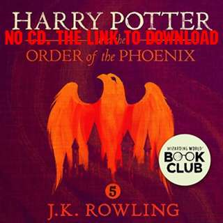 Harry Potter and the Order of the Phoenix, Book 5 - J.K. Rowling (AUDIOBOOK)