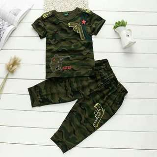 Camouflage Trouser Set