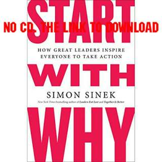 Start with Why - Simon Sinek (AUDIOBOOK)