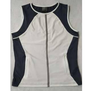 NIKE DRI FIT SLEEVELESS TOP GYM ATHLETIC SPORTS