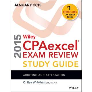 Wiley CPAexcel Exam Review 2015 Study Guide Bundle (4 Book)