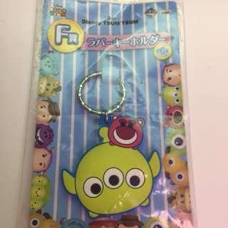一番賞 Disney Tsum Tsum F賞 三眼仔 勞蘇 橡膠鑰匙扣