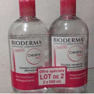 Bioderma sensibio 500ml Twin pack