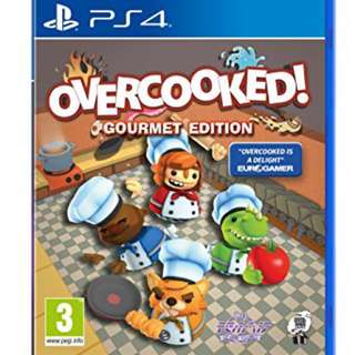 WTB PS4 Overcooked