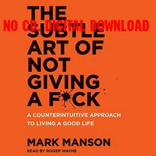 The Subtle Art Of Not Giving A Fuck - Mark Manson (AUDIO BOOK)