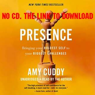 Presence - Amy Cuddy (AUDIO BOOK)