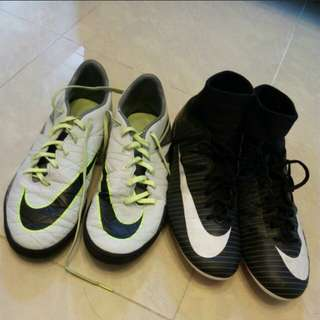 Nike Adidas.ball boots
