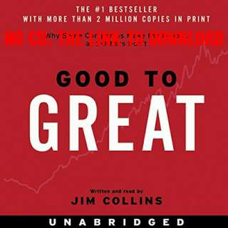 Good To Great - Jim Collins (AUDIOBOOK)