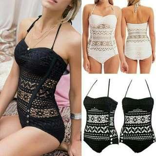 Pre order bikini bandage push up swimwear lace